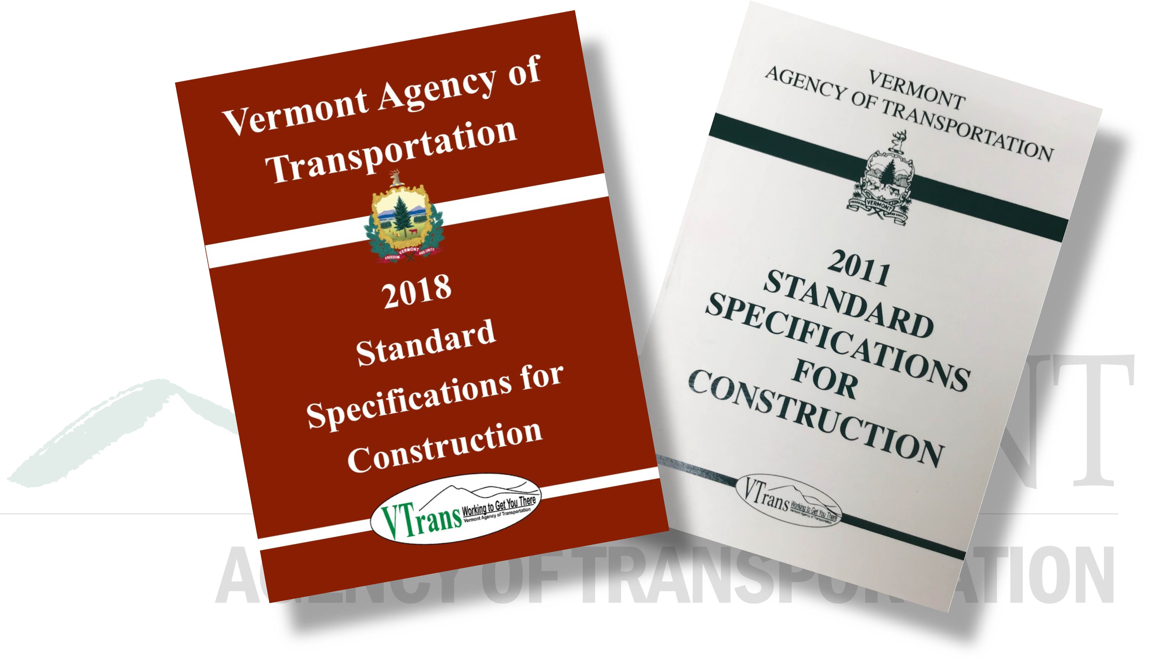 Pre-Contract and Specifications | Agency of Transportation